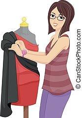 Girl Fashion Designer