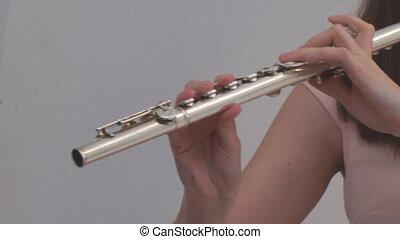 girl, flûte, jeux