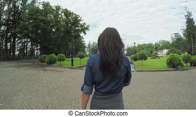 Girl guide follow me