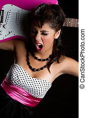 girl, guitare électrique