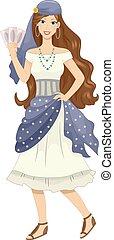 Girl Gypsy Cards