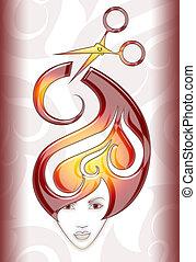 girl, illustration