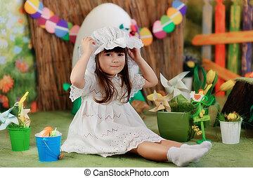 girl in a fairy tale