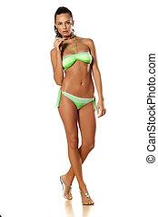 girl in bikini