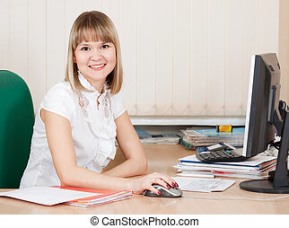 girl in business outfit in office - girl in business outfit ...