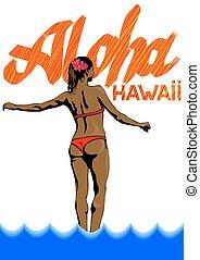 Girl in Hawaii two