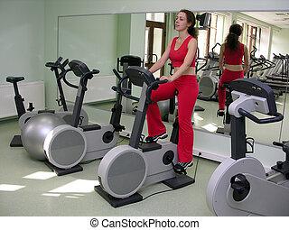 Health Club - girl in Health Club