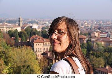 Girl in Italy