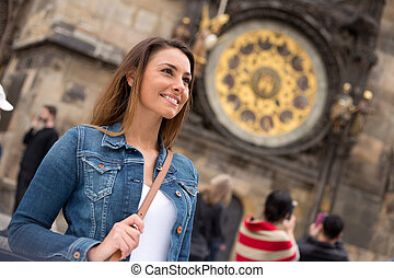girl in Prague
