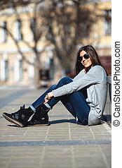 girl in the city