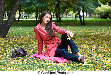 Girl in the Park