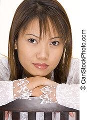 Girl In White 5