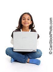 girl, informatique