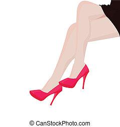 Girl Leg