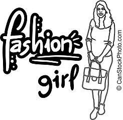 girl, mode