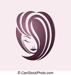 girl, mode, style cheveux