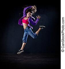 Girl modern dancer (normal version) - Young girl modern ...
