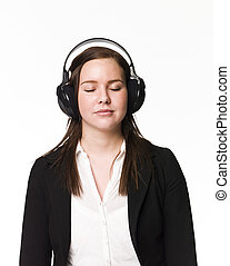 girl, musique, écouter
