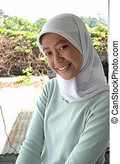 girl, musulman