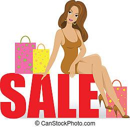 Girl on sale