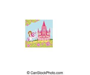 Girl on the unicorn