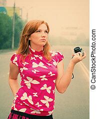 girl-photographer .extinct city - girl-photographer takes...