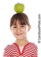 girl, pomme