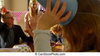girl, porter, casquette, sourire, mignon, 4k, gros plan,...