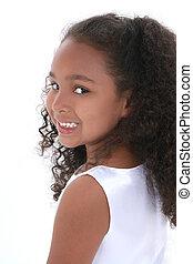 girl, portrait, enfant