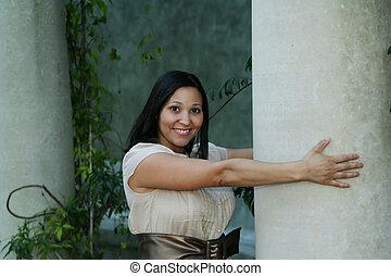 Girl Posing With Pilar (Multiuses) 11