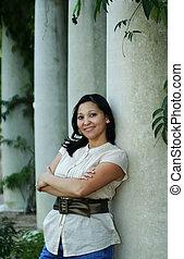 Girl Posing With Pilar (Multiuses) 5