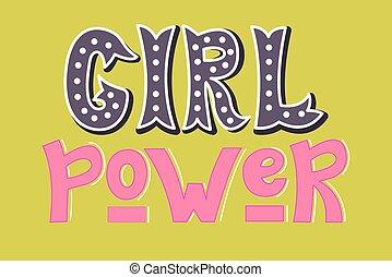 Girl power.