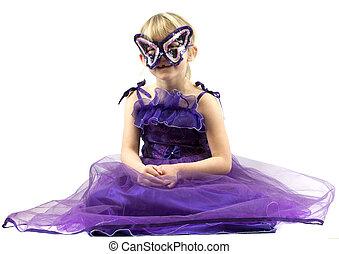 Girl ready for carnival