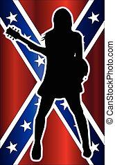 Girl Rebel Guitarist