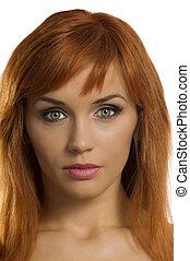 girl red hair