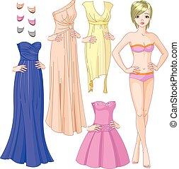 girl, robes soirée
