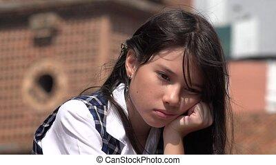 girl, souffrance, dépression, triste