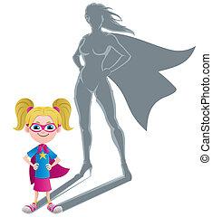 Girl Superheroine Concept