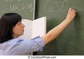 girl teacher
