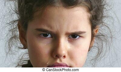 girl teen depression crying tears