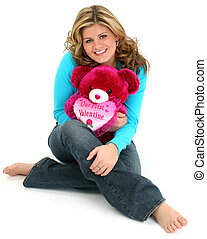 Girl Teen Valentine