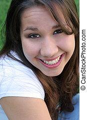Girl Teenager