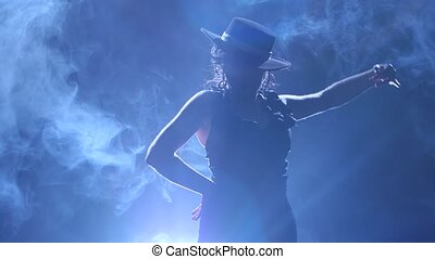Girl turns in an incendiary dance of Argentine flamenco ....