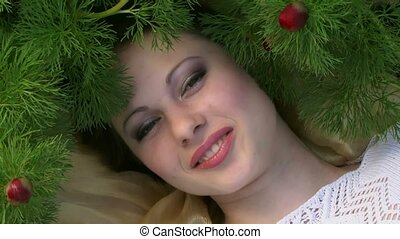 Girl Under The Tree