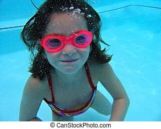 Girl Under Water