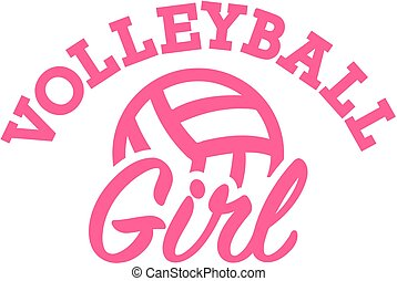 girl, volley-ball