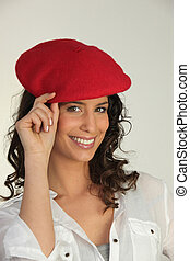 Girl with a beret
