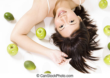 Girl With Fruit 5