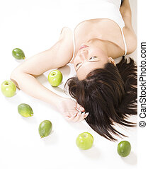 Girl With Fruit 6