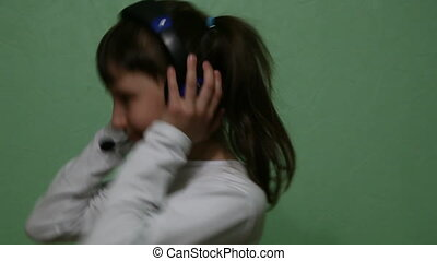 headphones - girl with headphones